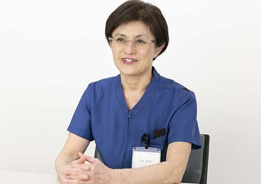 看護部長 山崎恵美子