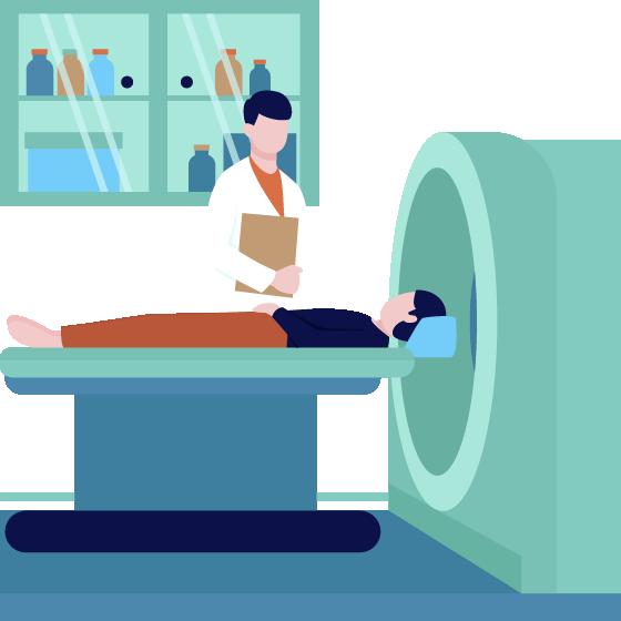 CT・MRI検査のイメージ